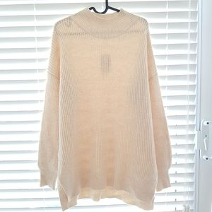Abound Warm and Cozy off-white Sweater. XL